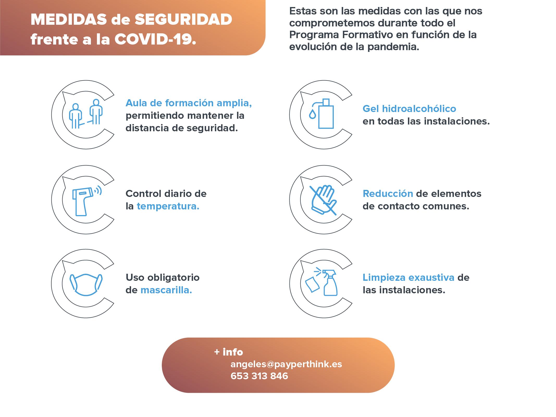 protocolo covid-19 formación coaching Mérida